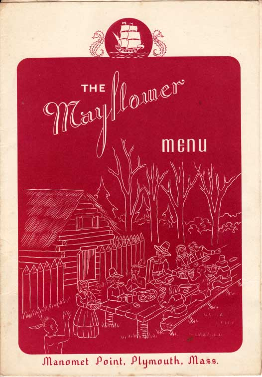 Mayflower Hotel Menu